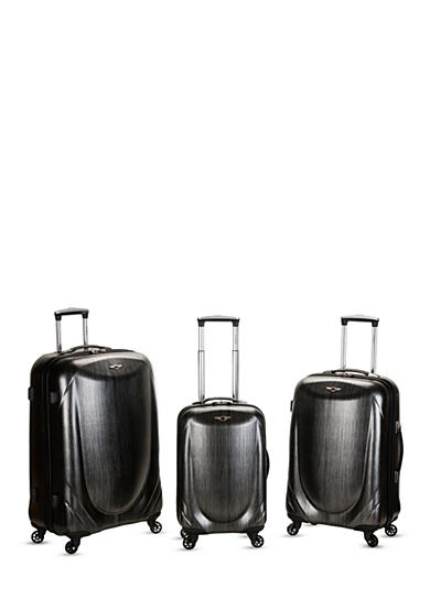 Rockland 3 Piece Polycarbonate Spinner Set