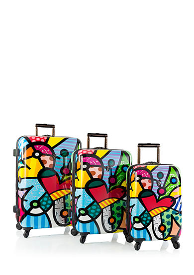 Heys Britto Hardside Butterfly Love Luggage Collection