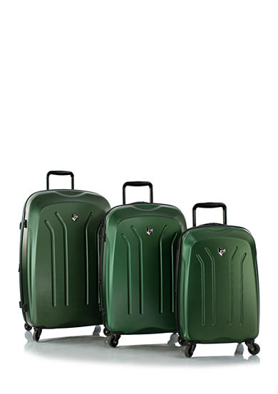 Heys Lightweight Pro Hardside Spinner Luggage Collection - Green