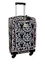 Damask City Black Pink 21-in. Spinner