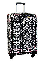 Damask City Black Pink 25-in. Spinner