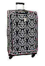 Damask City Black Pink 28-in. Spinner