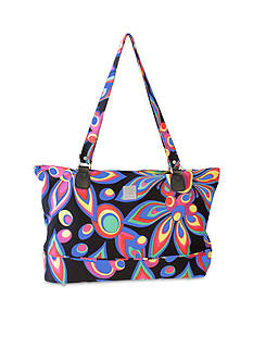 Jenni Chan™ JC FLOWER COMP TOTE MULTI