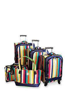 Jenni Chan™ Stripes Luggage Collection Multi Colored
