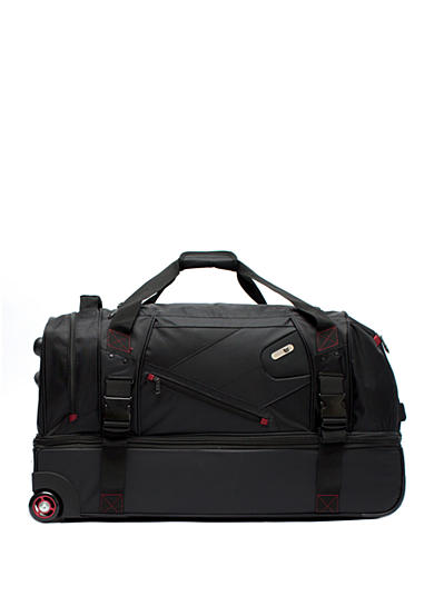 ful® Tour Manager Deluxe Rolling Duffel - Black