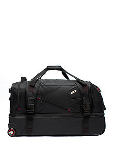 ful Tour Manager Deluxe Rolling Duffel - Black