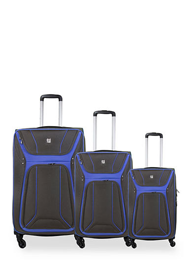 ful® 3-Piece Delancey Softside Upright Spinner Set