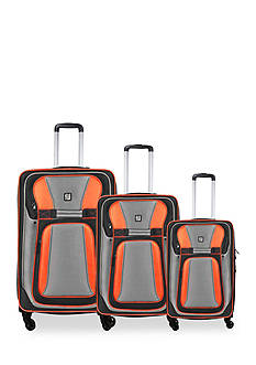 ful 3-Piece Delancey Softside Upright Spinner Set