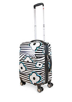 ful 24-in Floral Hardside Spinner Upright Luggage