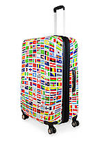 24-in. Flags Hardside Spinner Upright Luggage