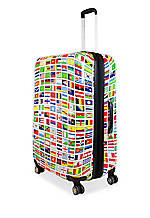 20-in. Flags Hardside Spinner Upright Luggage