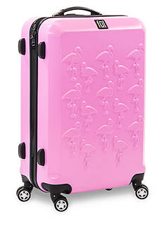 ful Flamingo Hard Case Large Expandable Spinner Upright Luggage In Pink