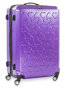 ful Hearts Hard Case Large Expandable Spinner Upright Luggage