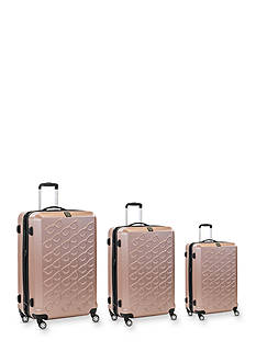 ful Three Piece Set Sunglasses Hard Case Spinner Upright Luggage