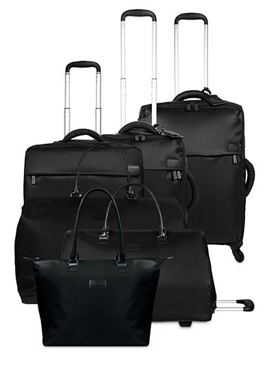 Lipault Luggage Collection - Black