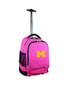 Mojo Michigan Premium Wheeled Backpack