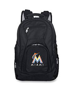 Denco Miami Marlins Premium 19-in. Laptop Backpack
