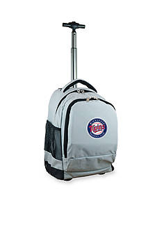 Mojo Minnesota Twins Premium Wheeled Backpack