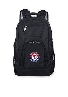 Denco Texas Rangers Premium 19-in. Laptop Backpack