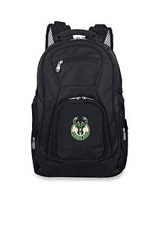 Denco Milwaukee Bucks Premium 19-in. Laptop Backpack