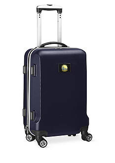 Denco Golden State Warriors 20-in. 8 wheel ABS Plastic Hardsided Carry-on