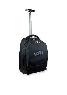 Mojo Utah Jazz Premium Wheeled Backpack