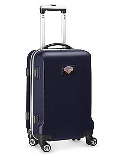 Denco New York Knicks 20-in. 8 wheel ABS Plastic Hardsided Carry-on