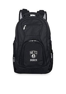 Denco Brooklyn Nets Premium 19-in. Laptop Backpack