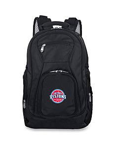 Denco Detroit Pistons Premium 19-in. Laptop Backpack