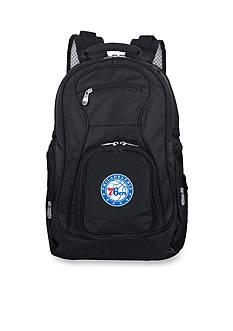 Denco Philadelphia 76ers Premium 19-in. Laptop Backpack