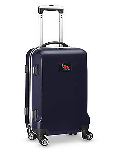 Denco Arizona Cardinals 20-in. 8 wheel ABS Plastic Hardsided Carry-on