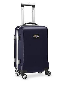 Denco Baltimore Ravens 20-in. 8 wheel ABS Plastic Hardsided Carry-on