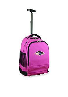 Mojo Baltimore Ravens Premium Wheeled Backpack