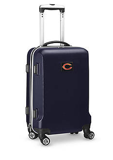 Denco Chicago Bears 20-in. 8 wheel ABS Plastic Hardsided Carry-on