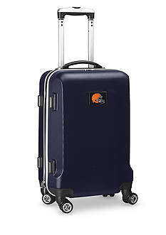 Denco Cleveland Browns 20-in. 8 wheel ABS Plastic Hardsided Carry-on