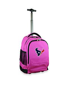 Mojo Houston Texans Premium Wheeled Backpack