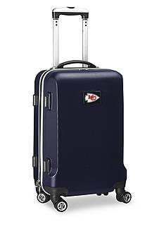 Denco Kansas City Chiefs 20-in. 8 wheel ABS Plastic Hardsided Carry-on
