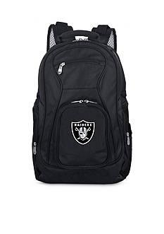 Denco Oakland Raiders Premium 19-in. Laptop Backpack