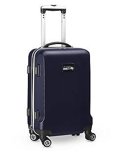 Denco Seattle Seahawks 20-in. 8 wheel ABS Plastic Hardsided Carry-on
