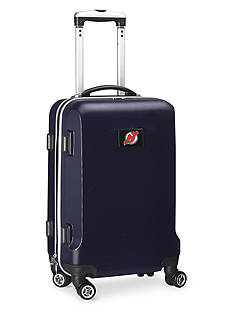 Denco New Jersey Devils 20-in. 8 wheel ABS Plastic Hardsided Carry-on