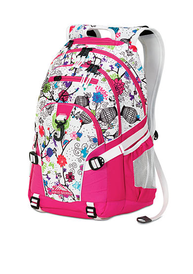 High Sierra Loop Backpack - Cerise Forest Party