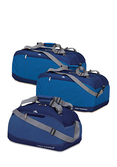 High Sierra Blue Pack 'n Go Luggage Collection