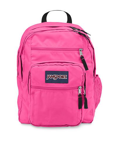 Jansport Big Student Backpack Flo Pink   Belk