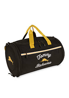 Tommy Bahama® Tumbler 20-in. Clamshell Duffel - Black