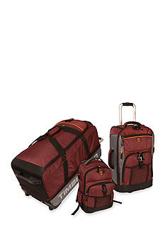 Timberland Hampton Falls 3 Piece Luggage Set - Truffle