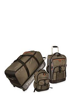 Timberland Hampton Falls 3 Piece Luggage Set - Olive