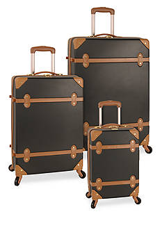 Diane von Furstenberg Adieu Hardside Spinner Luggage Collection - Black