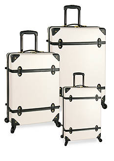 Diane von Furstenberg Adieu Hardside Spinner Luggage Collection - White