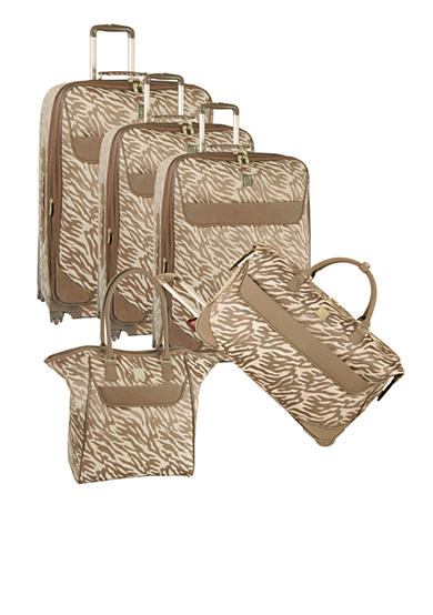 Anne Klein Lions Mane Luggage Collection