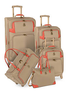 Tommy Bahama® Belle Luggage Collection - Champagne